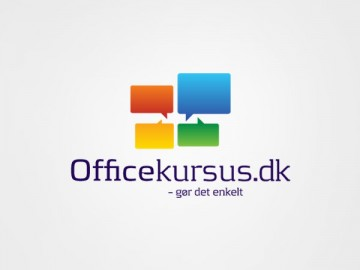 Logodesign firmaidentitet officekursus microsoftoffice